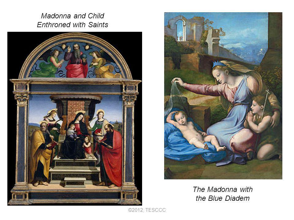 The Madonna with the Blue Diadem