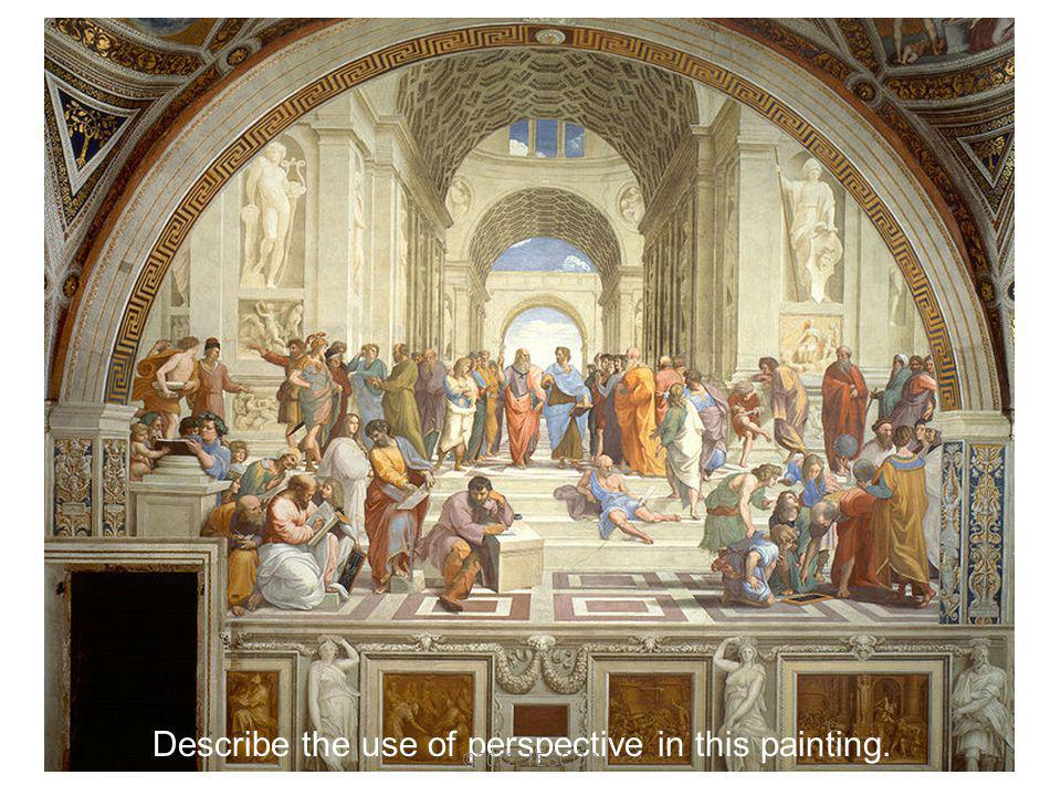 Describe the use of perspective in this painting.