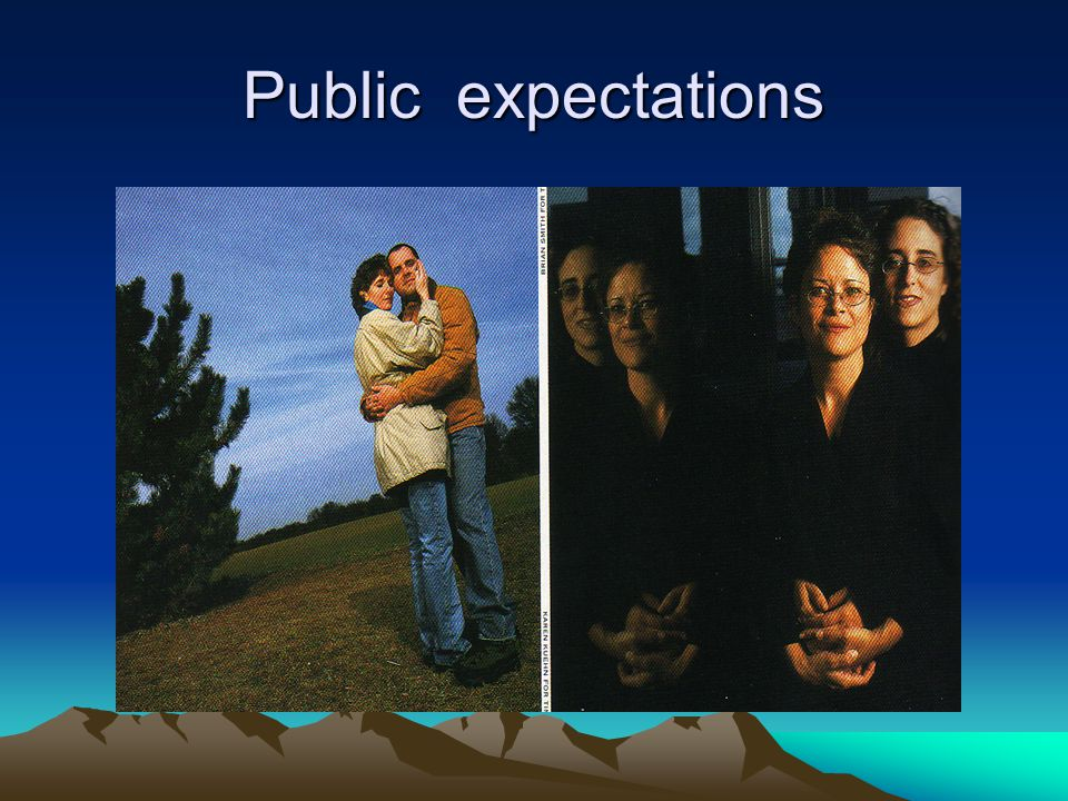 Public expectations