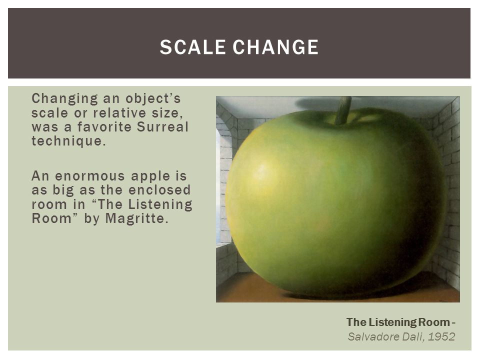 Scale Change