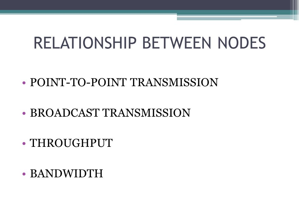 RELATIONSHIP BETWEEN NODES