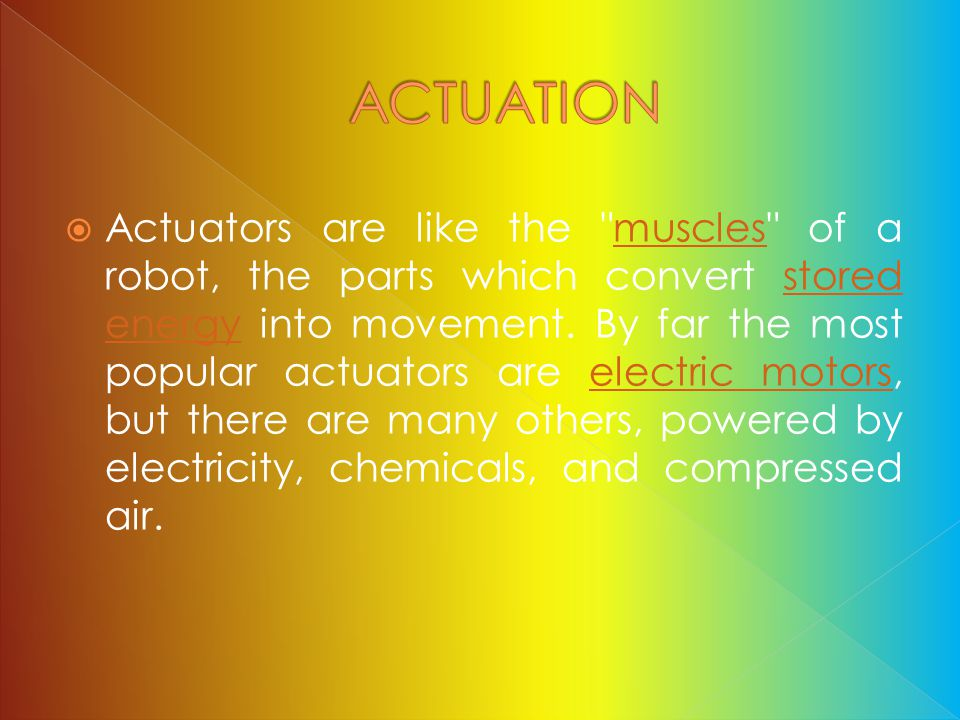 ACTUATION
