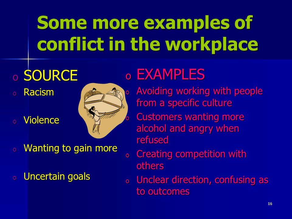 dealing with conflicts in the workplace