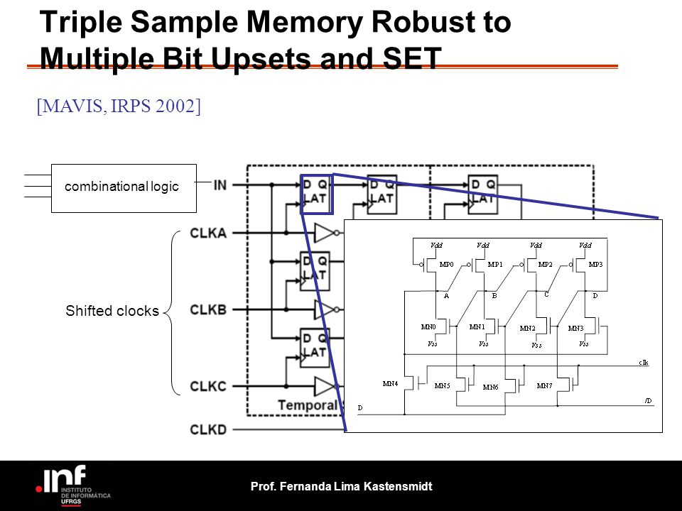 Triple Sample Memory Robust to Multiple Bit Upsets and SET