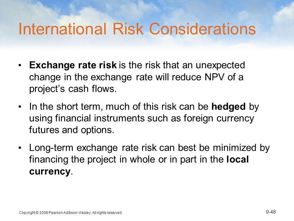 International Risk Considerations