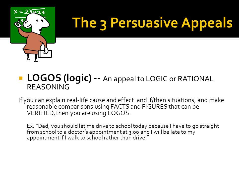 The 3 Persuasive Appeals