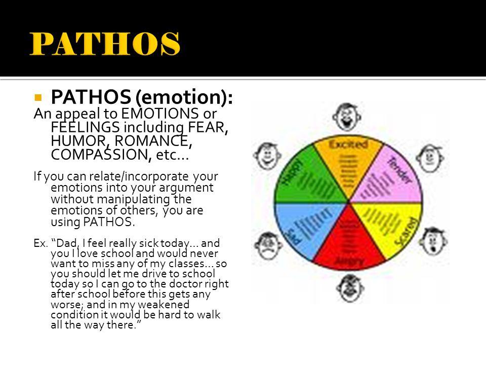 PATHOS PATHOS (emotion):