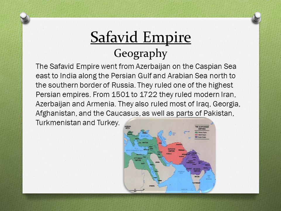 Safavid Empire Geography