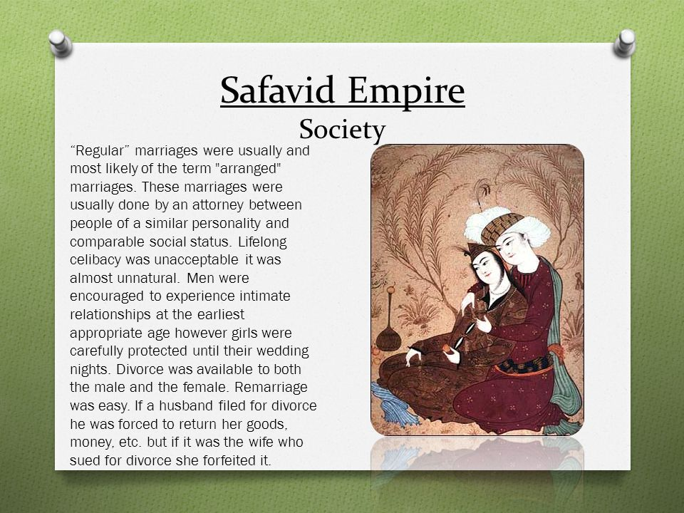 Safavid Empire Society