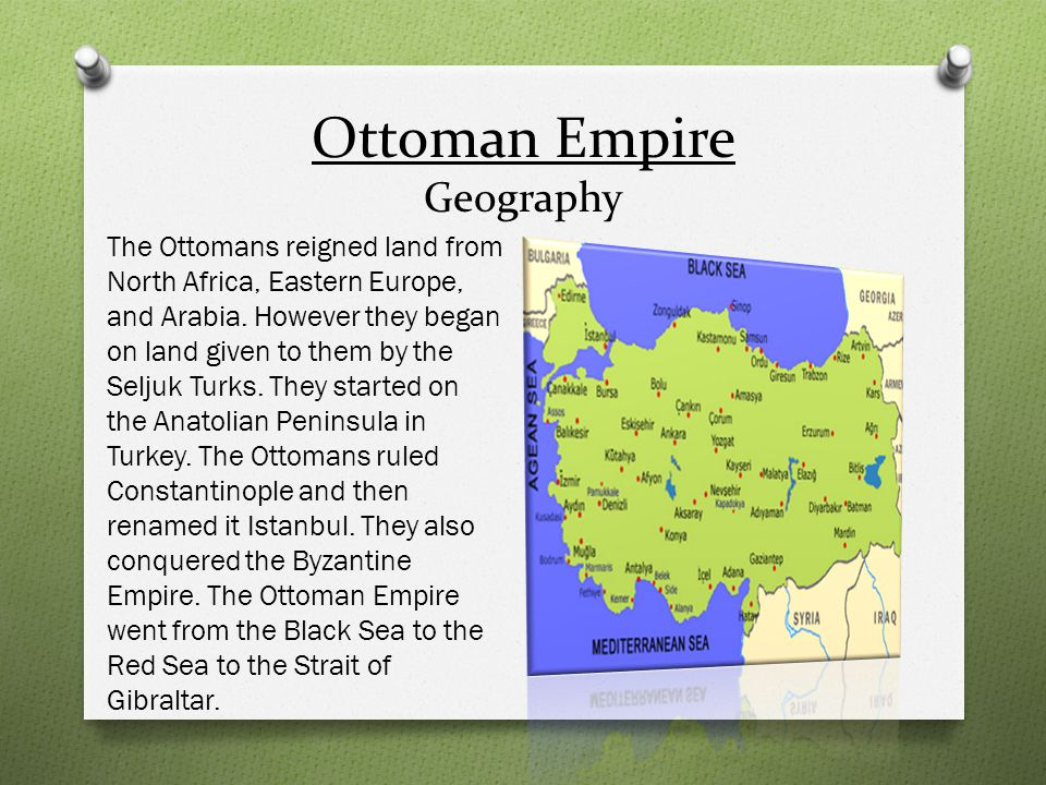 Ottoman Empire Geography