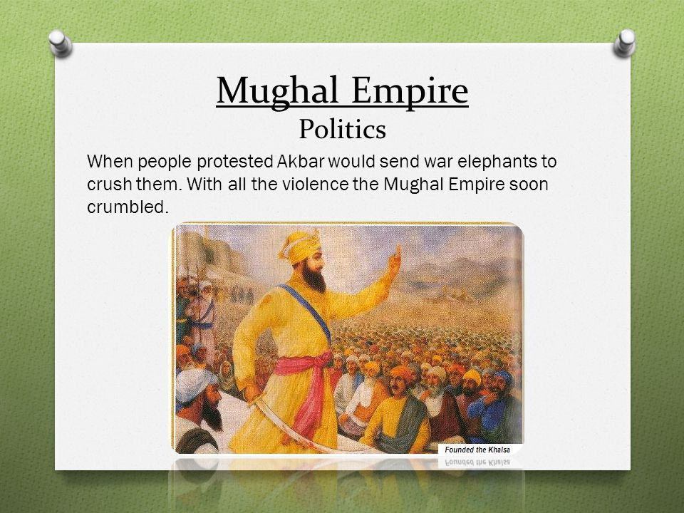 Mughal Empire Politics