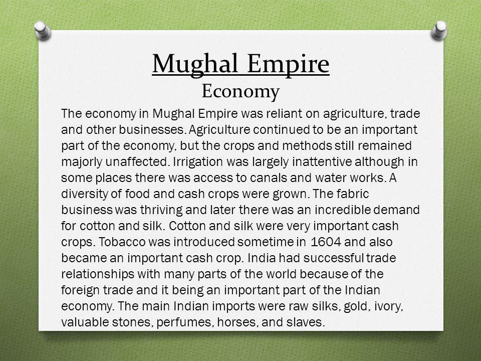 Mughal Empire Economy