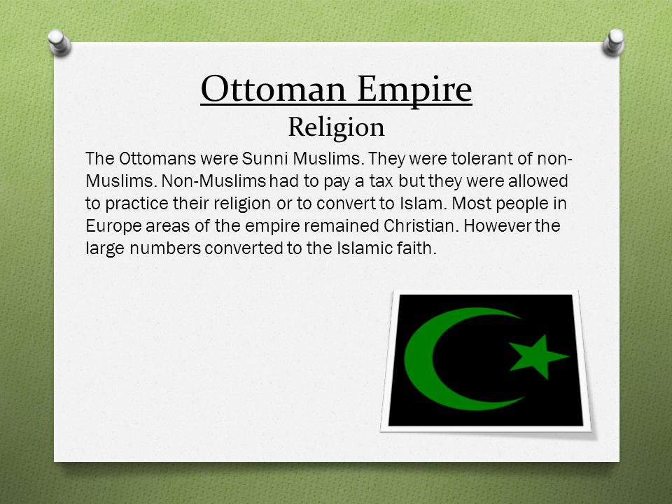 Ottoman Empire Religion