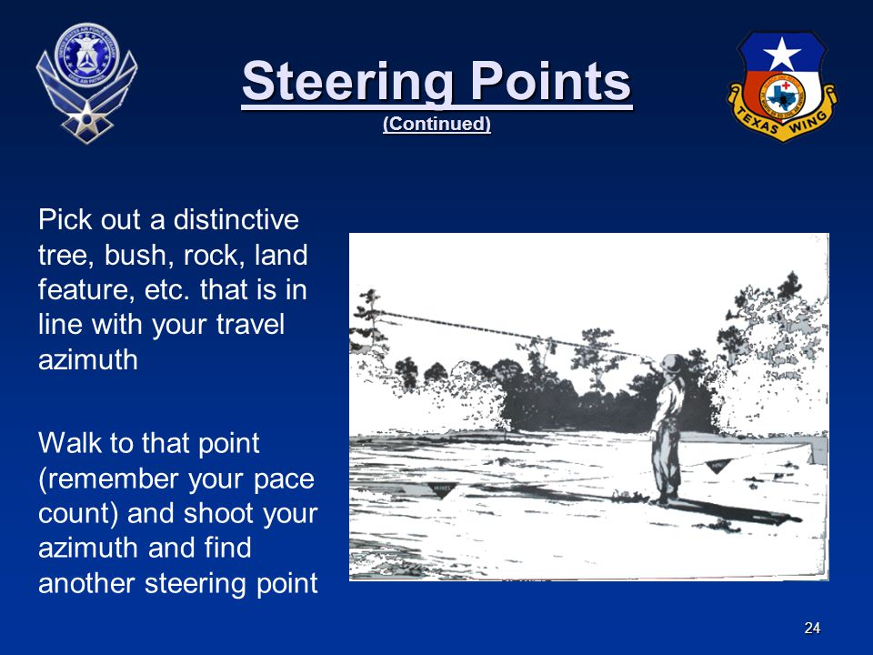 Steering Points (Continued)