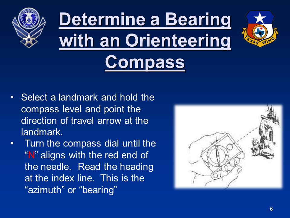 Determine a Bearing with an Orienteering Compass
