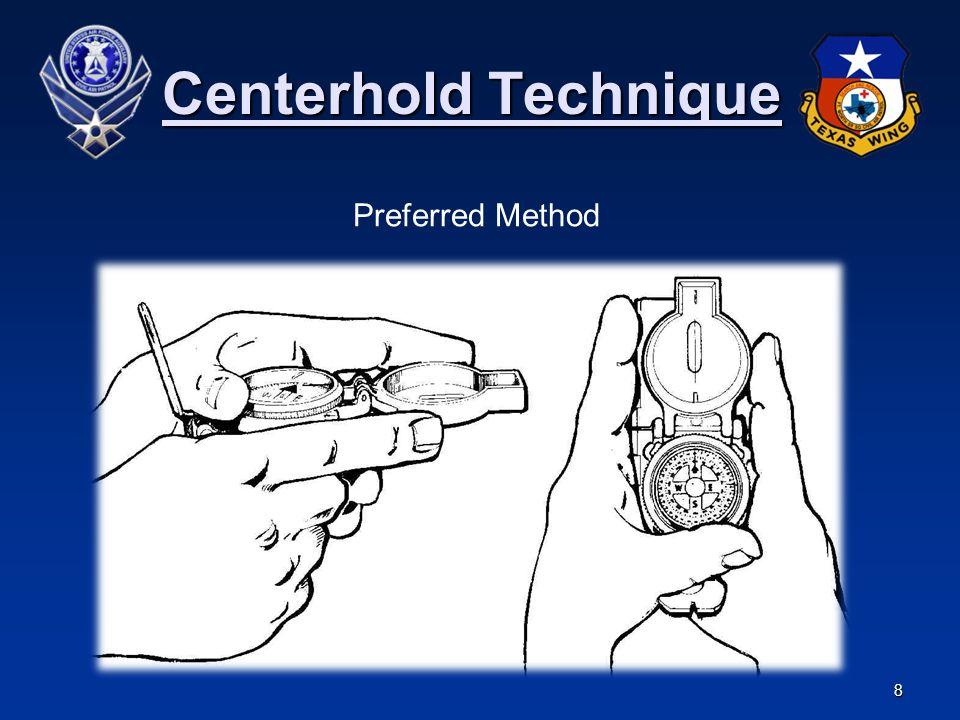 Centerhold Technique Preferred Method
