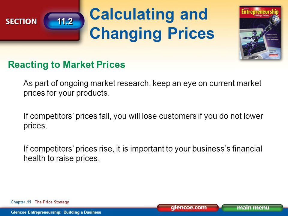 Reacting to Market Prices