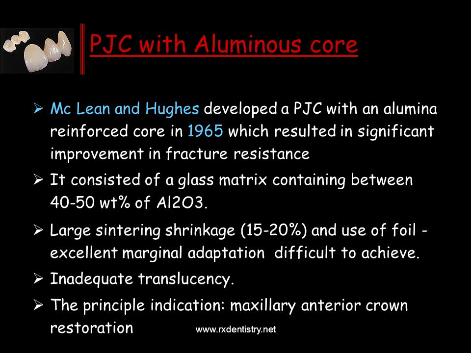 PJC with Aluminous core