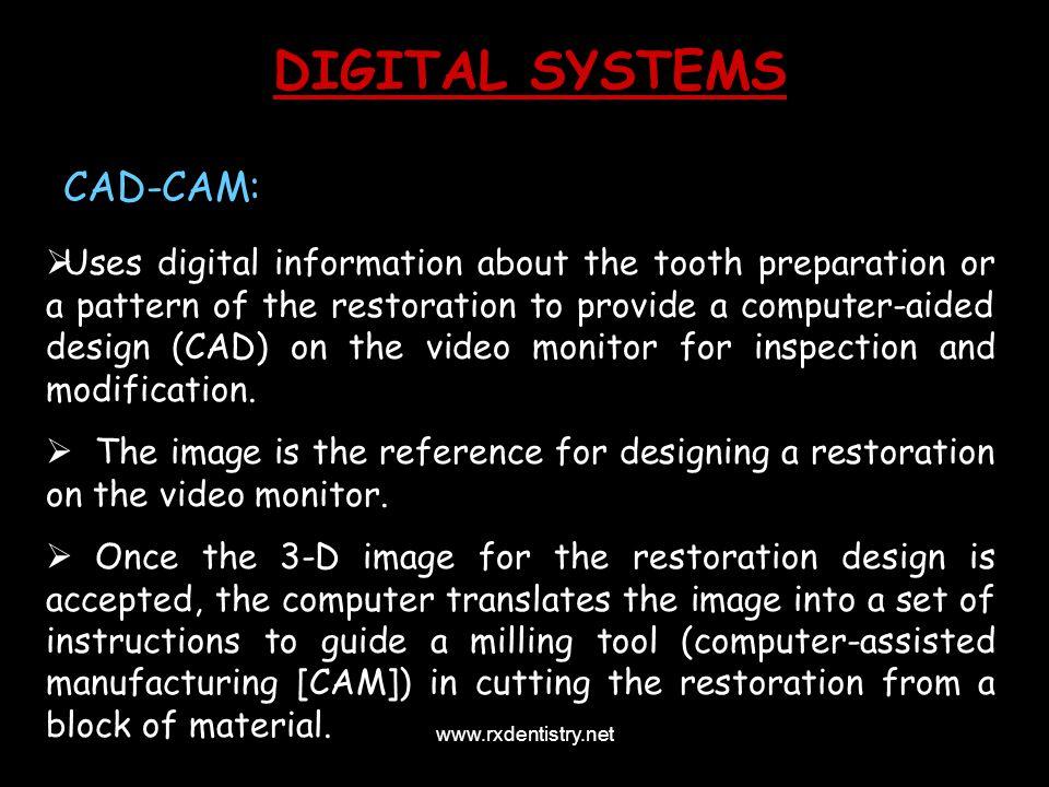 DIGITAL SYSTEMS CAD-CAM: