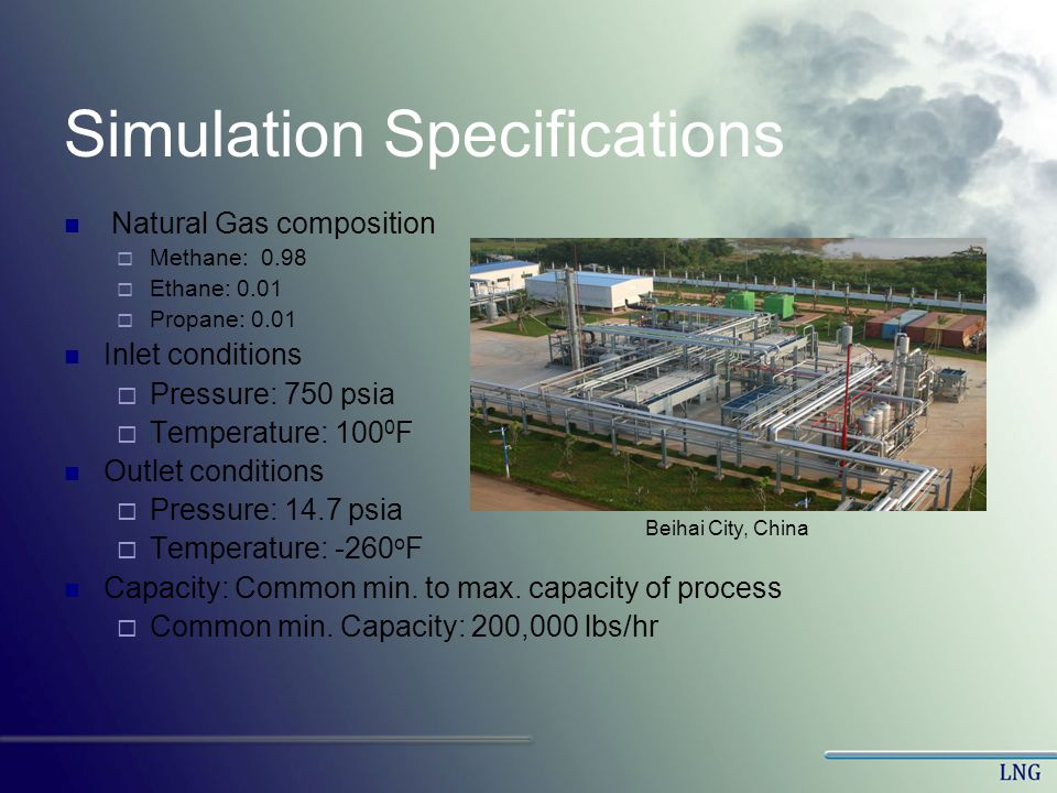 Simulation Specifications