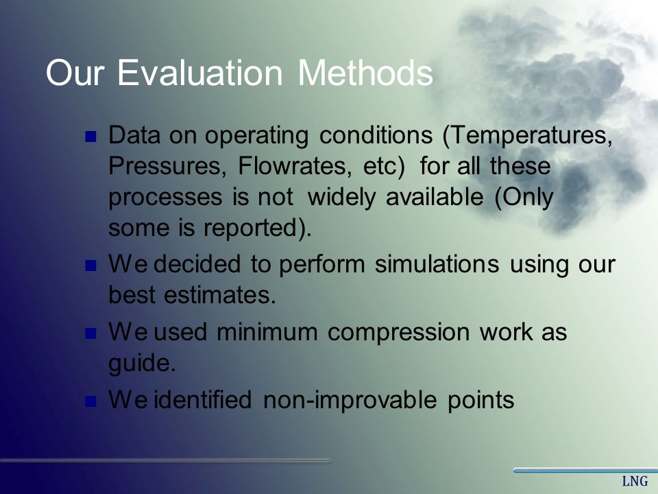 Our Evaluation Methods
