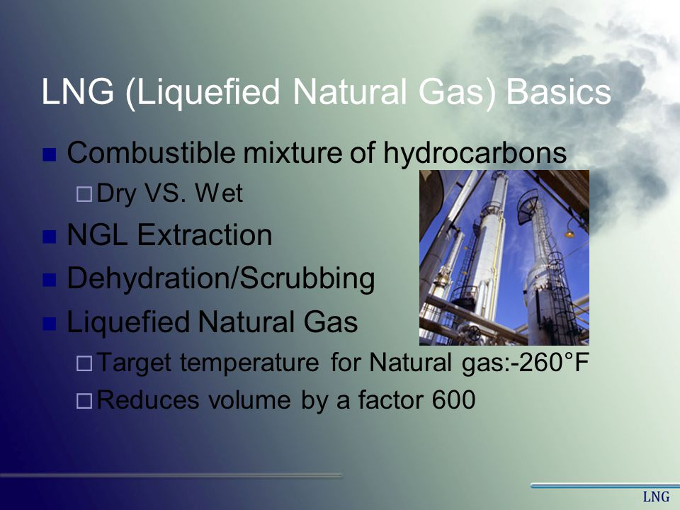 LNG (Liquefied Natural Gas) Basics