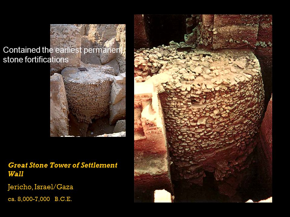 Contained the earliest permanent stone fortifications