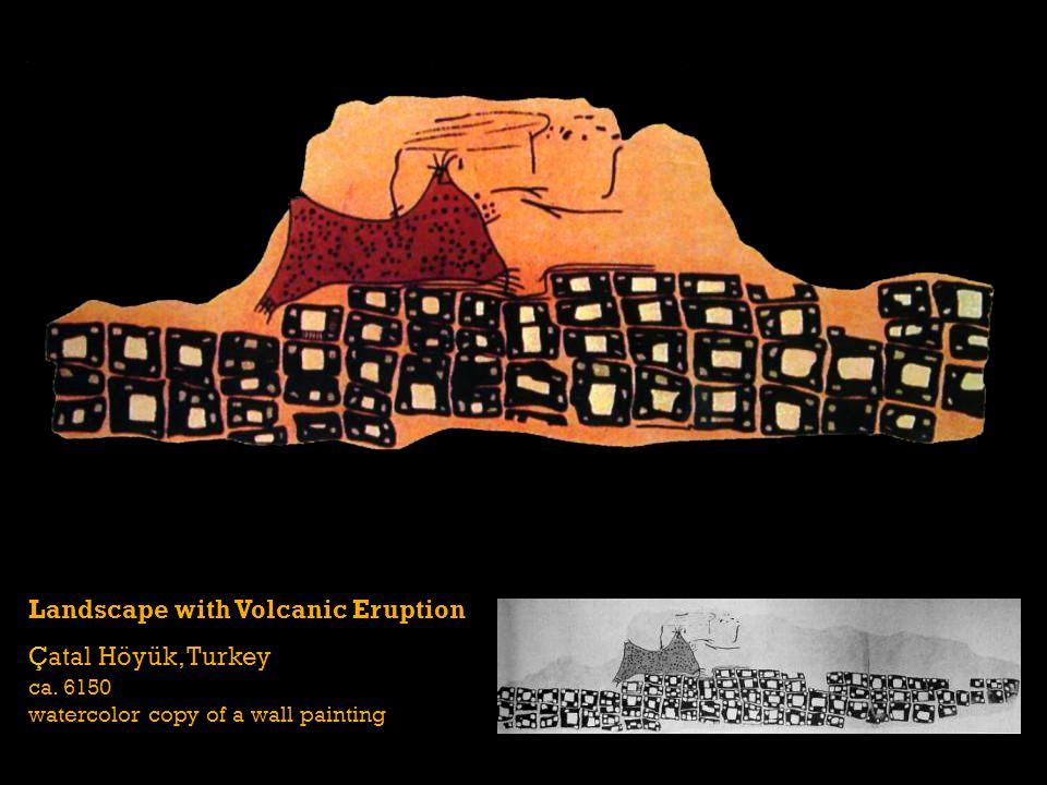 Landscape with Volcanic Eruption