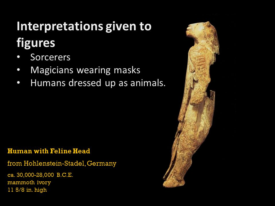 Interpretations given to figures