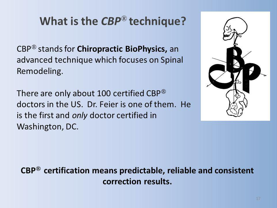 What is the CBP® technique