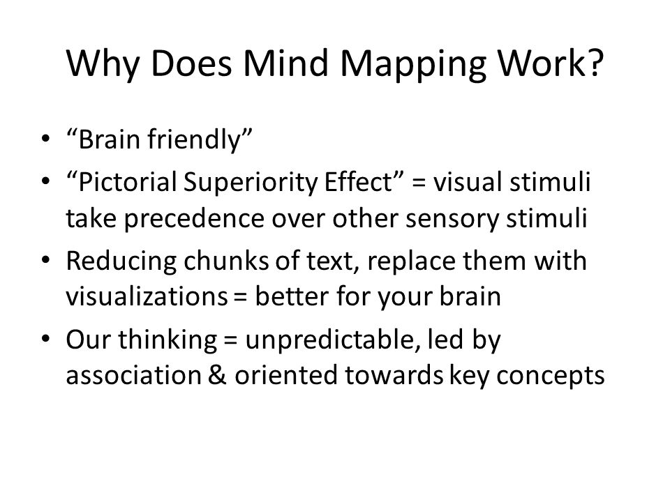 Why Does Mind Mapping Work