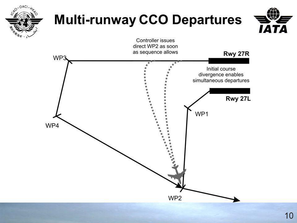 Multi-runway CCO Departures