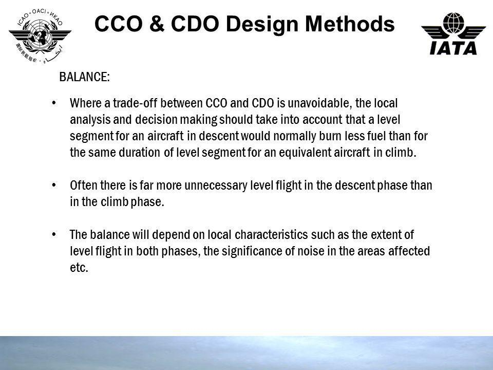 CCO & CDO Design Methods