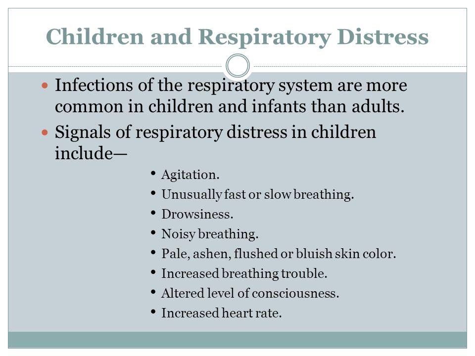 Children and Respiratory Distress