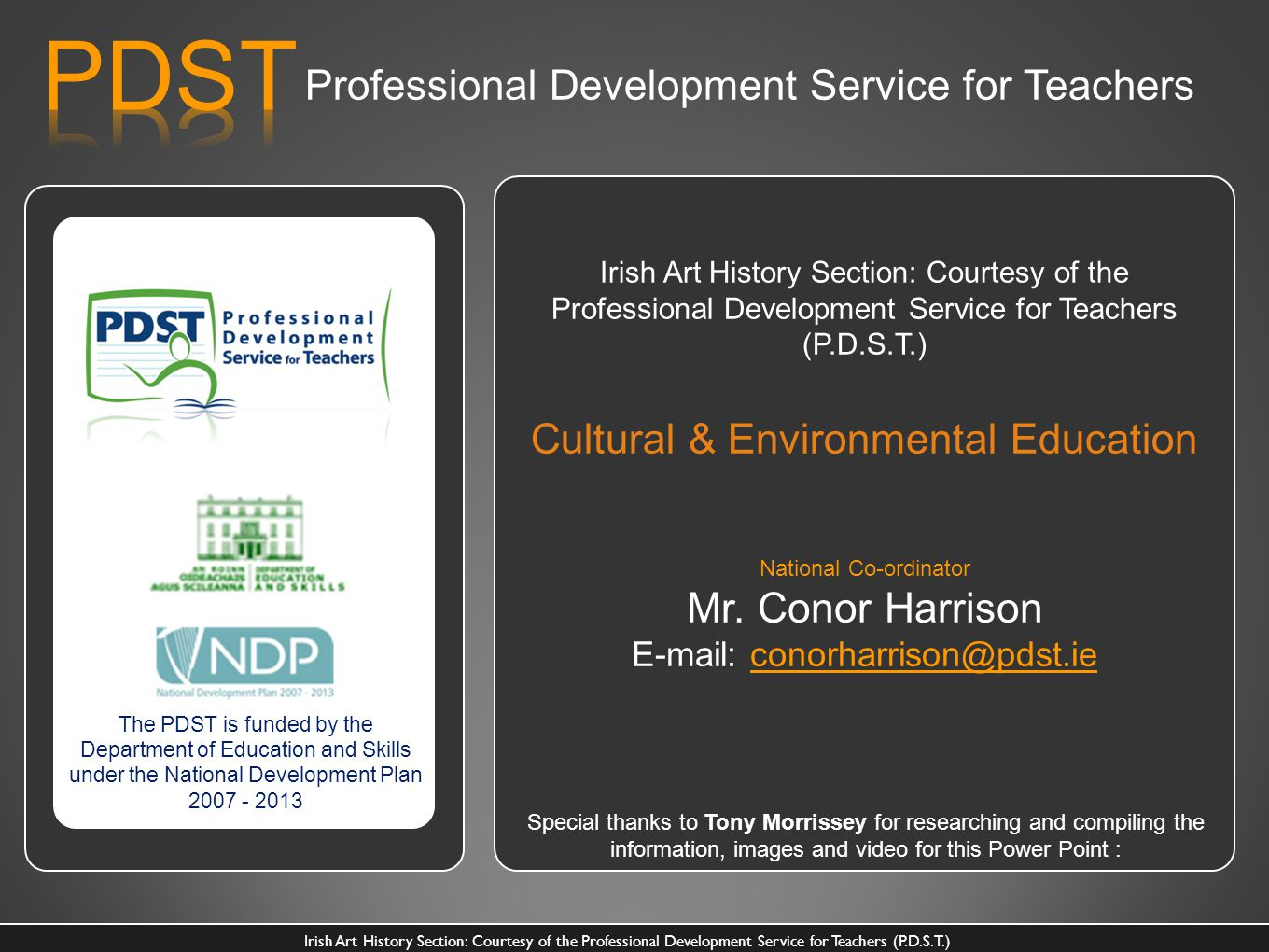PDST Professional Development Service for Teachers