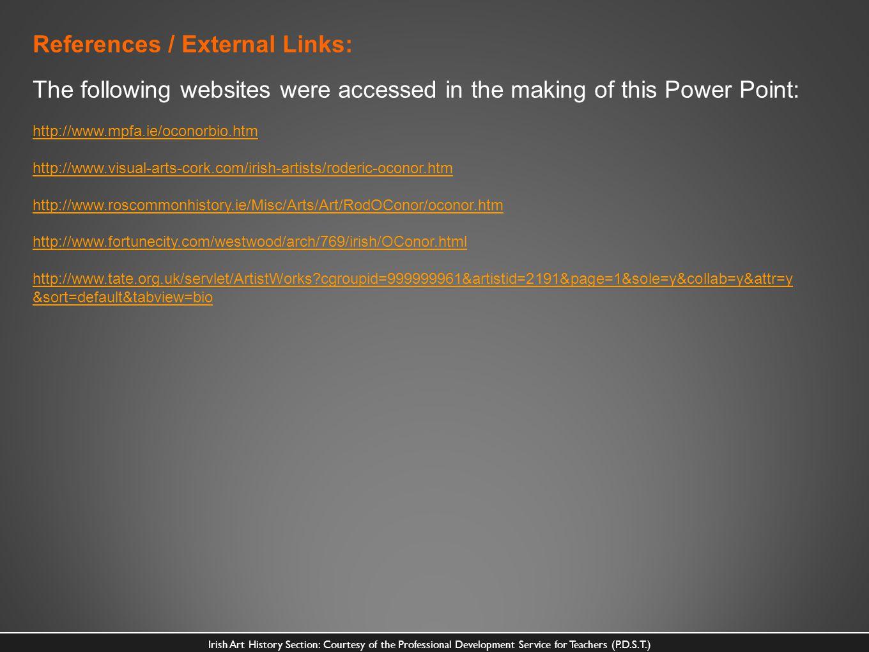 References / External Links: