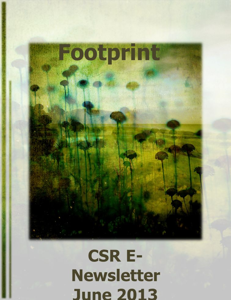 Footprint CSR E-Newsletter June 2013