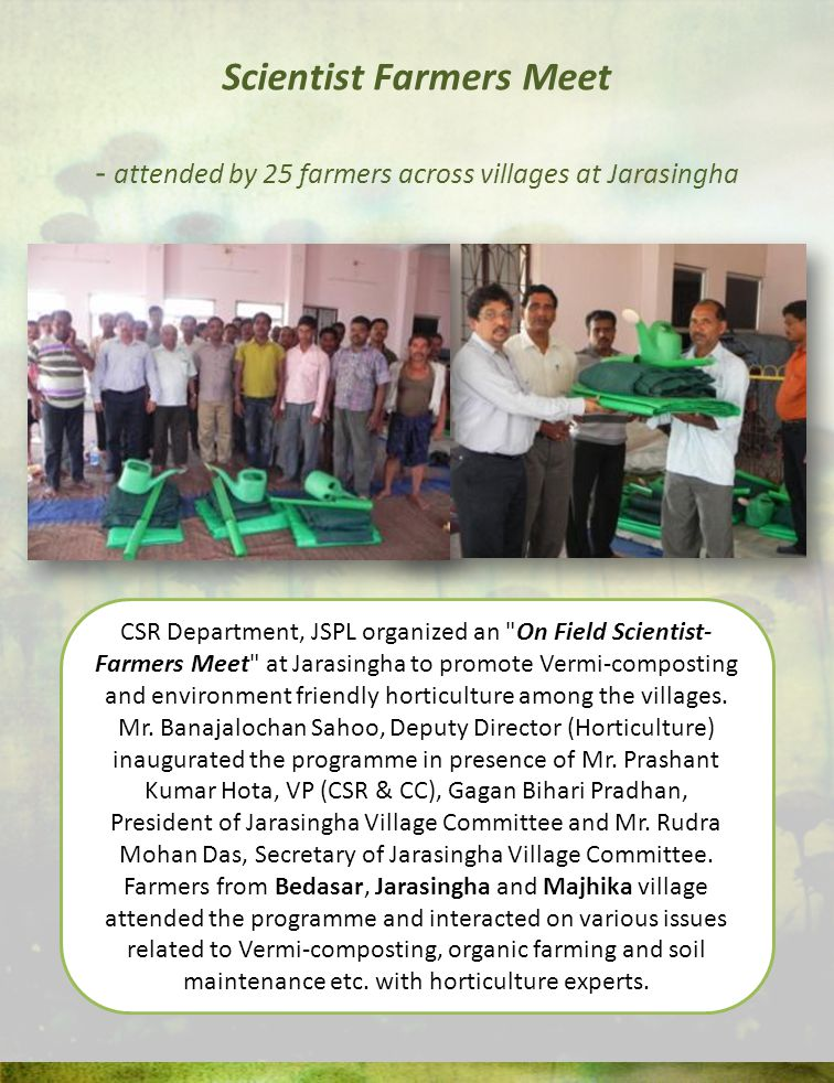 Scientist Farmers Meet