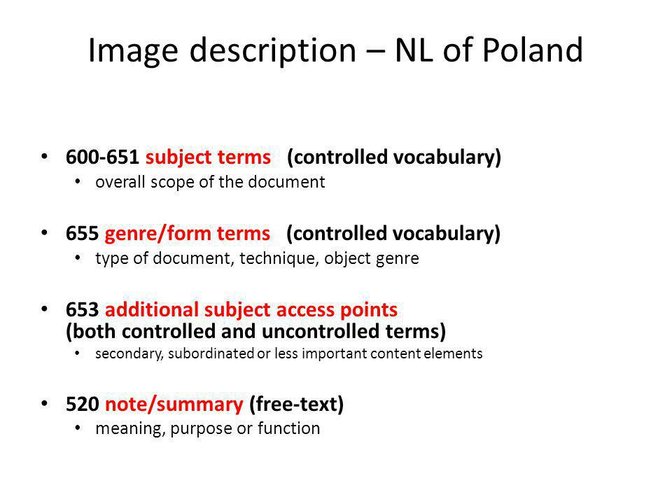 Image description – NL of Poland