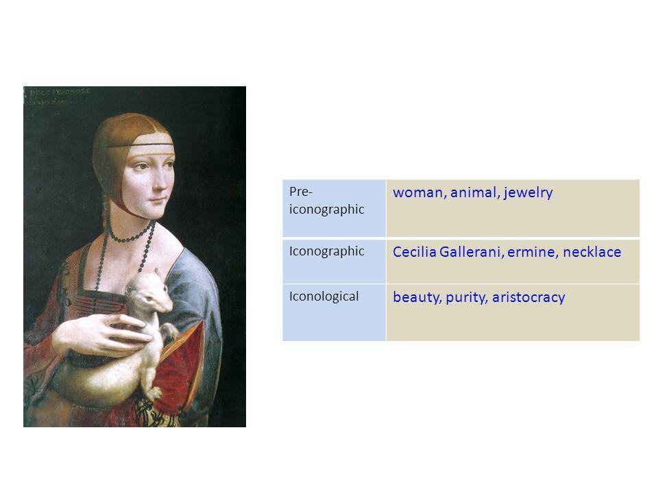 Cecilia Gallerani, ermine, necklace beauty, purity, aristocracy