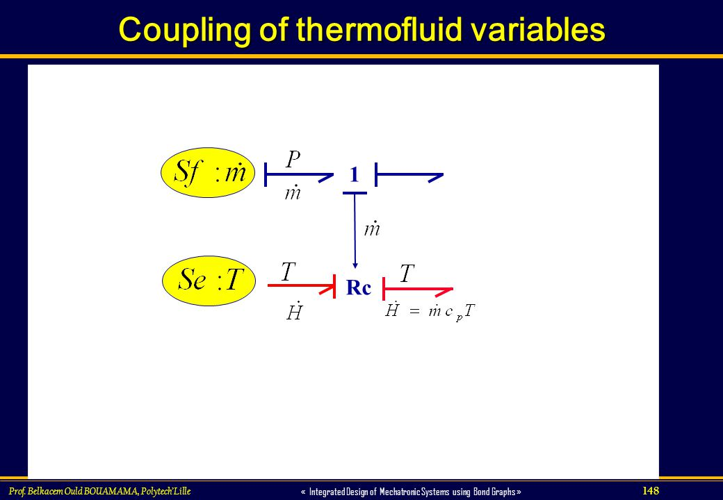 Coupling of thermofluid variables