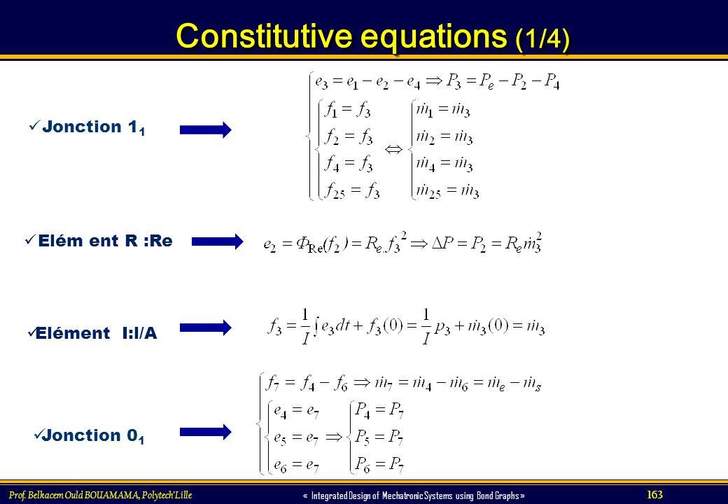 Constitutive equations (1/4)
