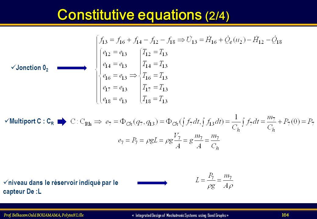 Constitutive equations (2/4)