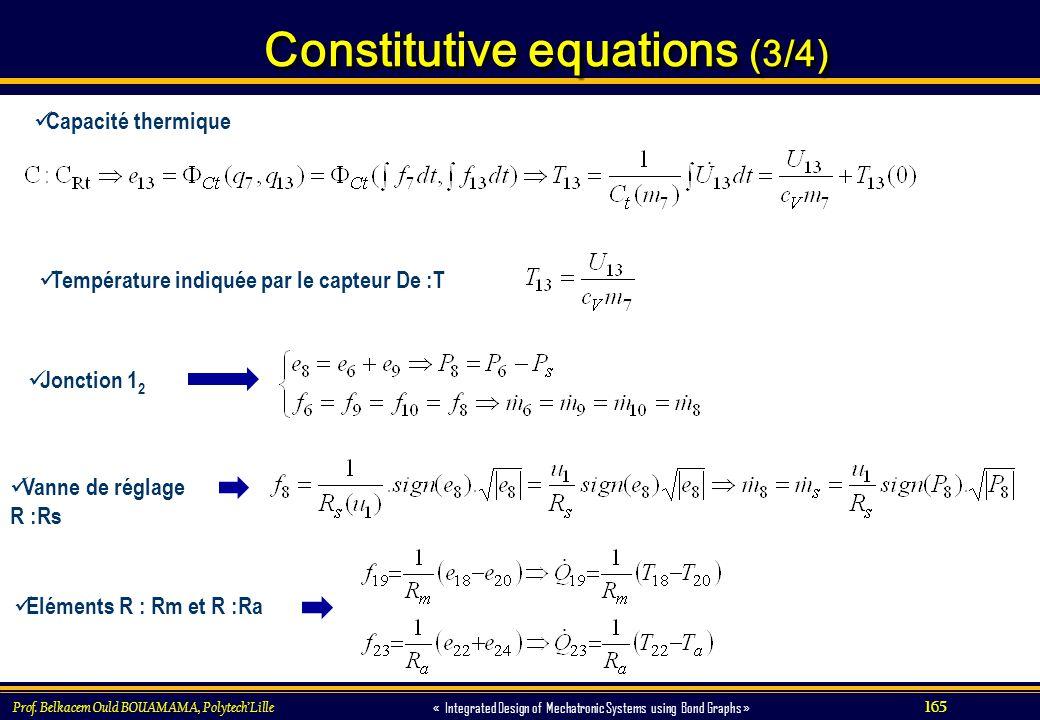 Constitutive equations (3/4)