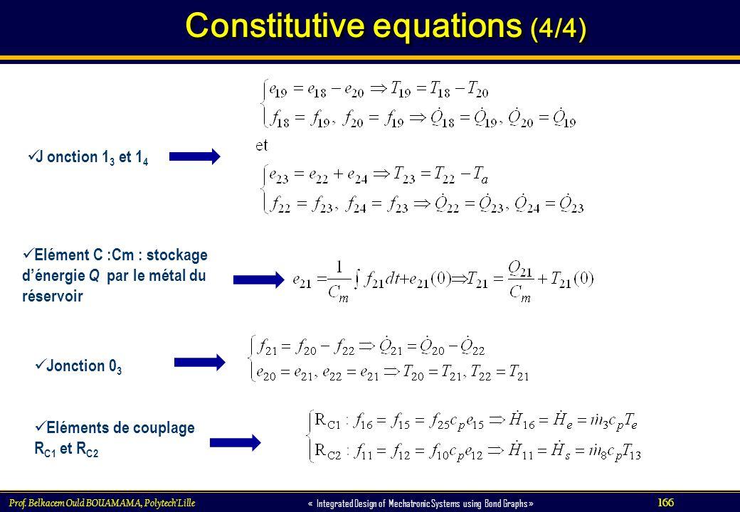 Constitutive equations (4/4)