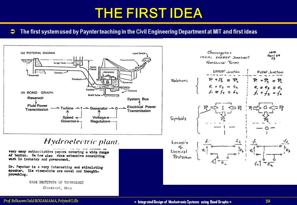 THE FIRST IDEA The first paper