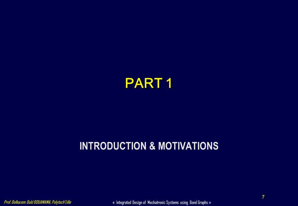 INTRODUCTION & MOTIVATIONS