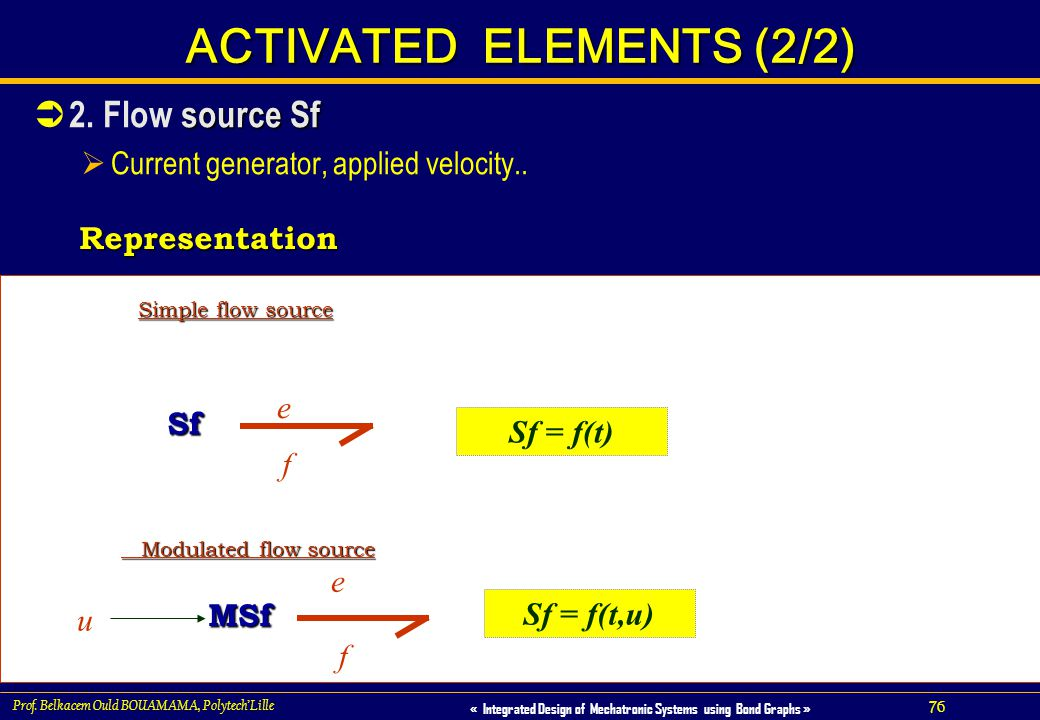 ACTIVATED ELEMENTS (2/2)