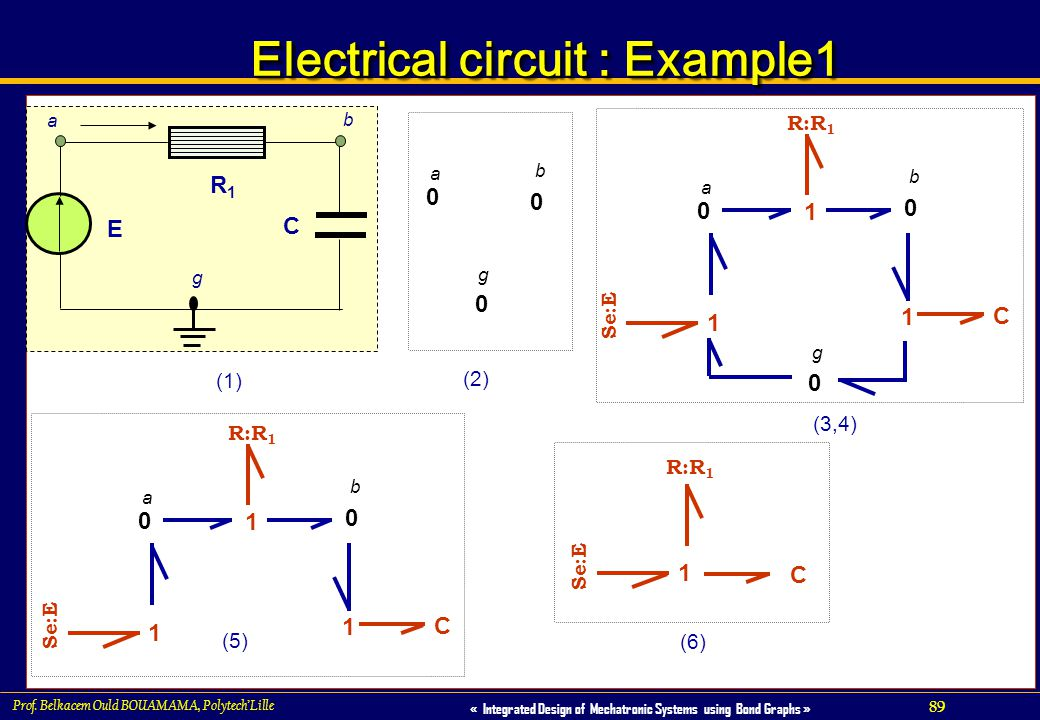 Electrical circuit : Example1
