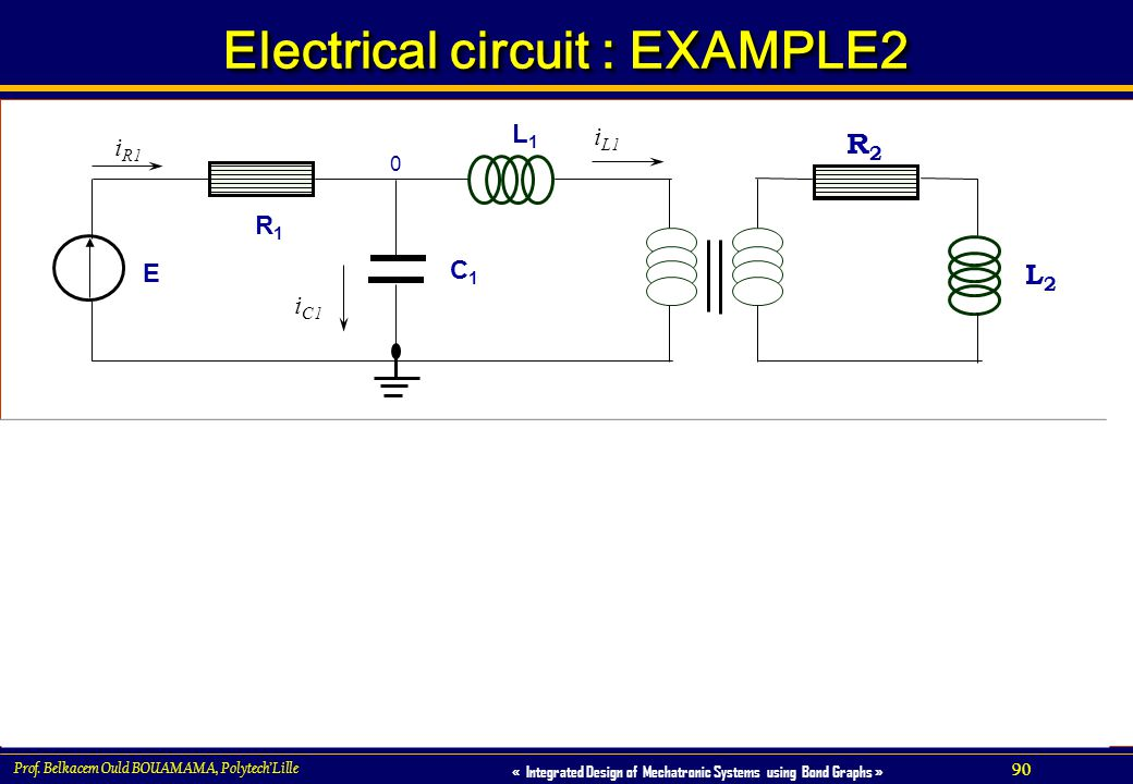 Electrical circuit : EXAMPLE2